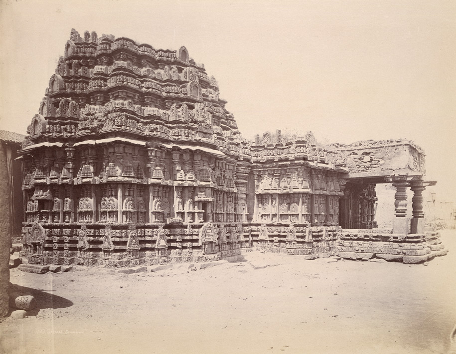 General view of Someshvara Temple, Gadag